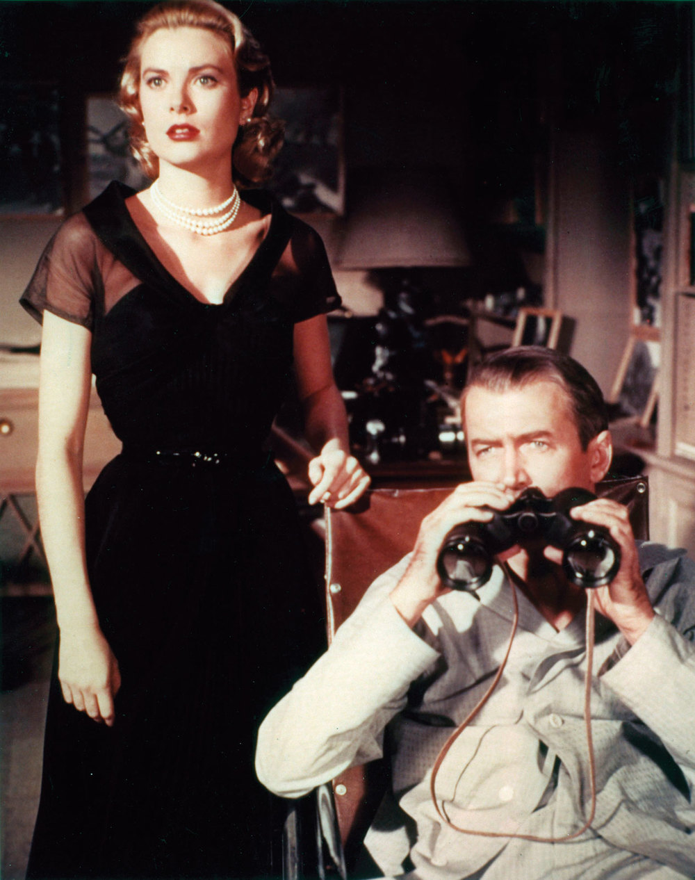 Still shot from Rear Window