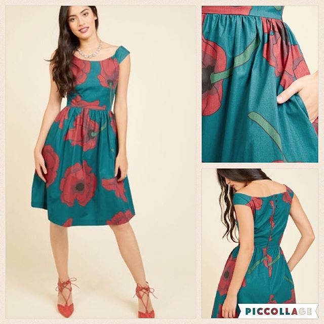 "Our ""Party Doll"" dress, dubbed the ""Celebrated Sophisticate"" by Modcloth"