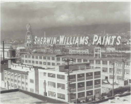 Photo courtesy of The Sherwin-Williams Company, circa 1930′s.