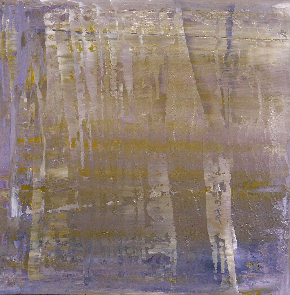 PLASTISOL ON PANEL 24x24  2012