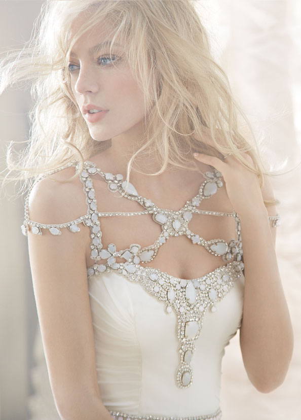 hayley-paige-bridal-silk-georgette-fit-flare-ruched-alabaster-crystal-embellished-belt-natural-chapel-6362_zm.jpg