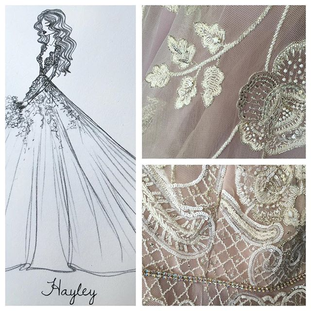 Come visit us tomorrow between 12-5 and see our newest @misshayleypaige gown from @jlm_couture!! 💕💗 #yyc #Calgary #nyc #hayleypaige #misshayleypaige #love #bride #wedding #jlmcouture #inspiration #details #blush #sketch #dress #floral #perfect #beautiful #stunning #new #yeg #instagood #instamood #stunning #sayyestothedress #igers #like #follow