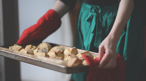buttermilk & cream scones