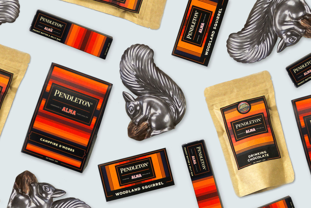 Alma Chocolates x Pendleton Collaboration →