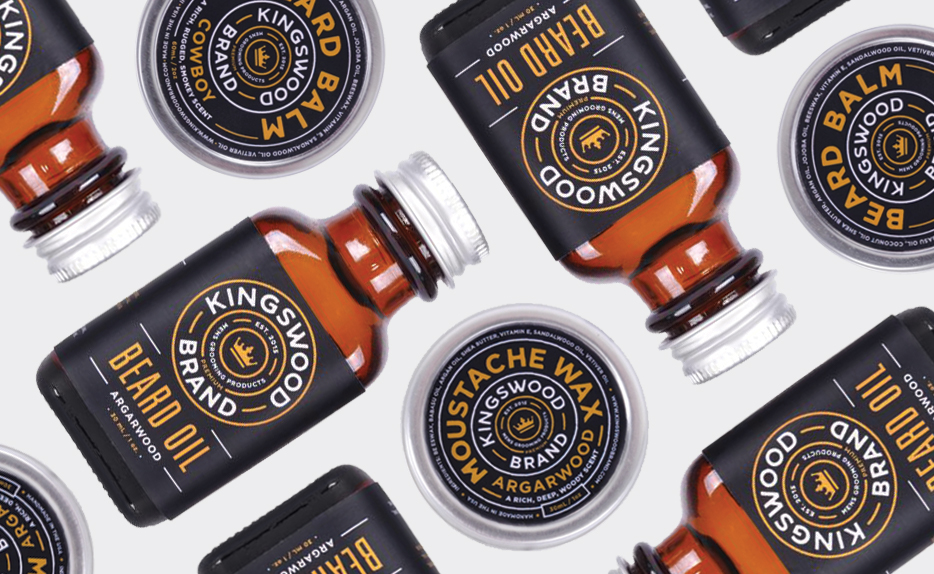Kingswood Beard Products - Identity & Packaging →