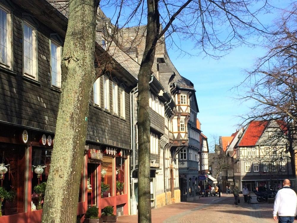 Goslar Germany Cobbleston Street.JPG