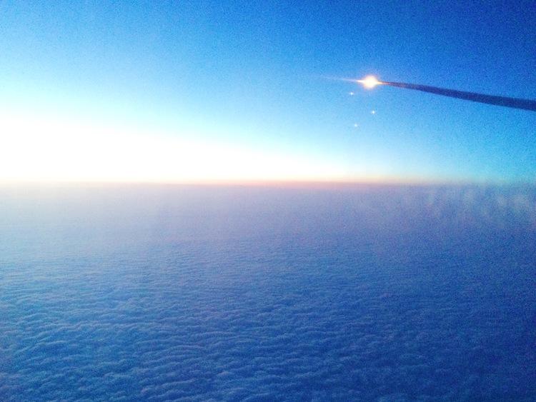 Budget flights across the Atlantic