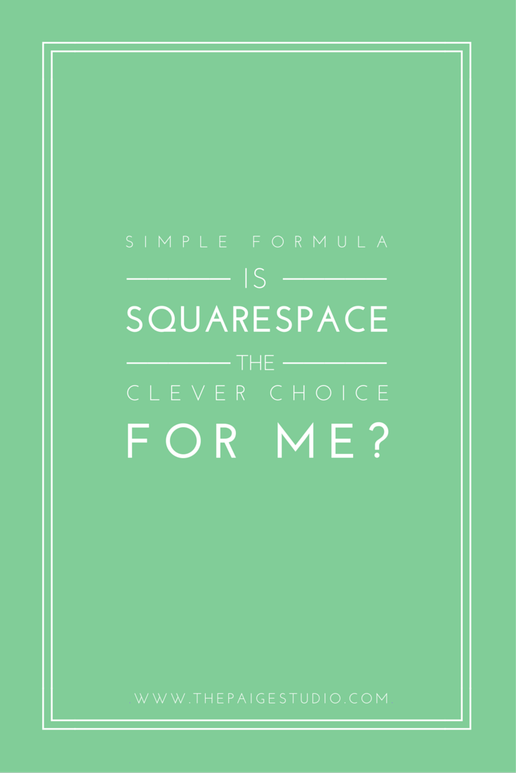 Is Squarespace right for you and your needs?