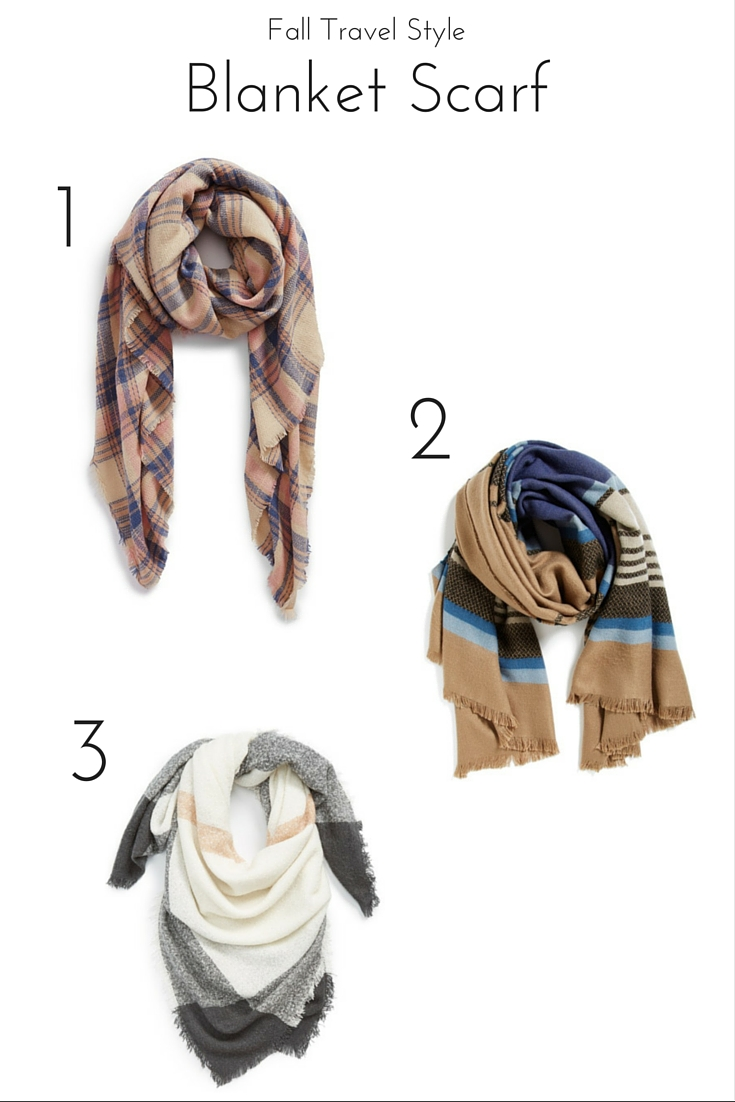 Travel In Style: Blanket Scarf