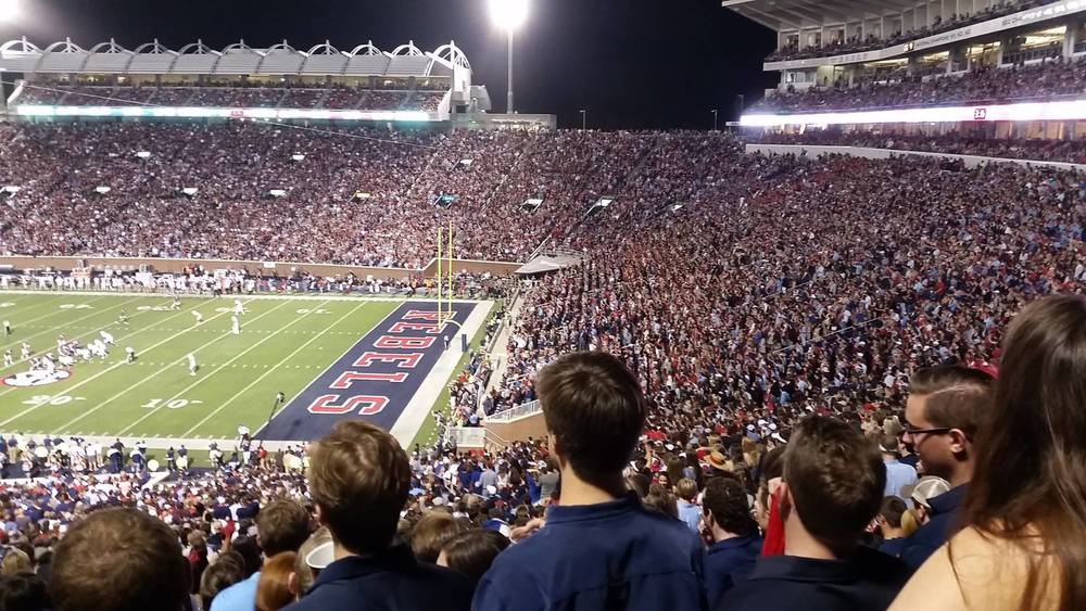 Ole Miss Football Student Ticket Purchasing