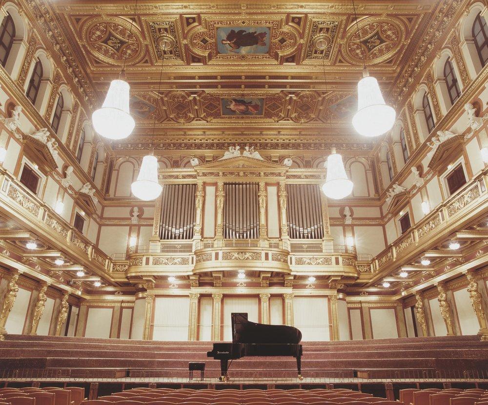 Bösendorfer piano in Musikverein