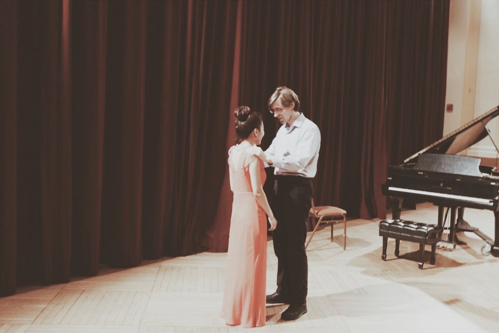 2017 graduation recital at NEC with Prof. Dimitri Murrath