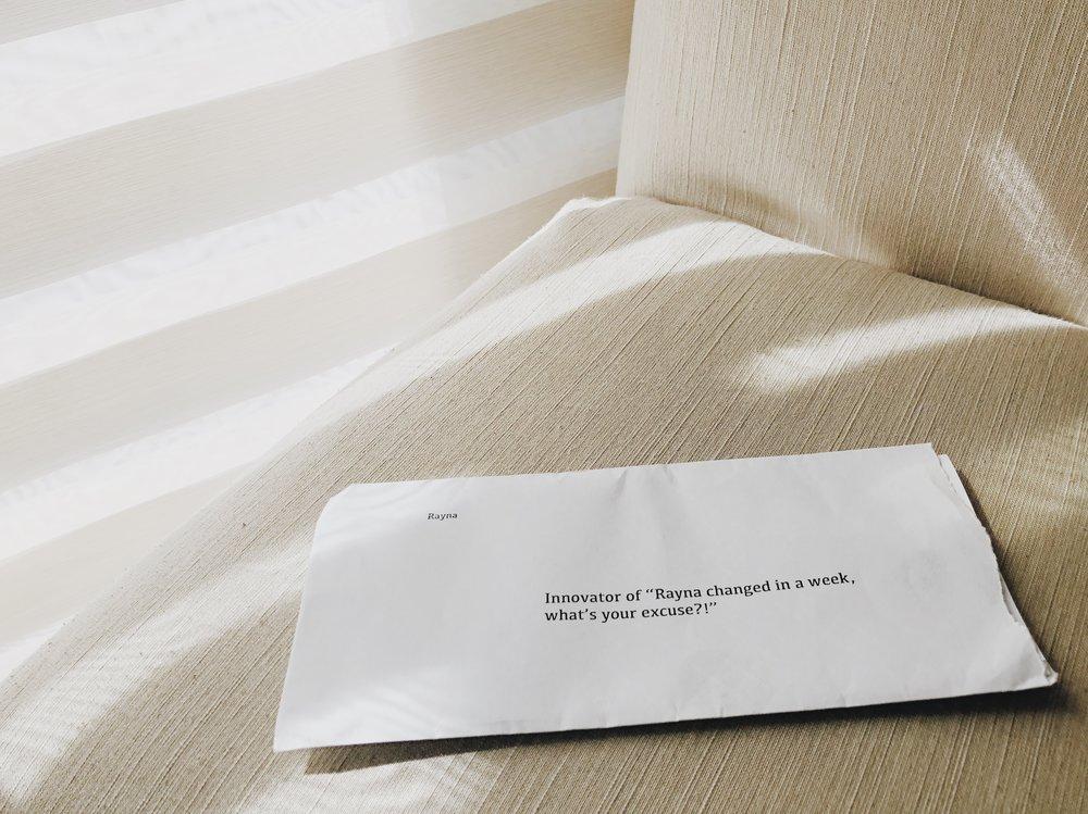 學期末時,親愛的教授給了每個人一封信,這是我的。