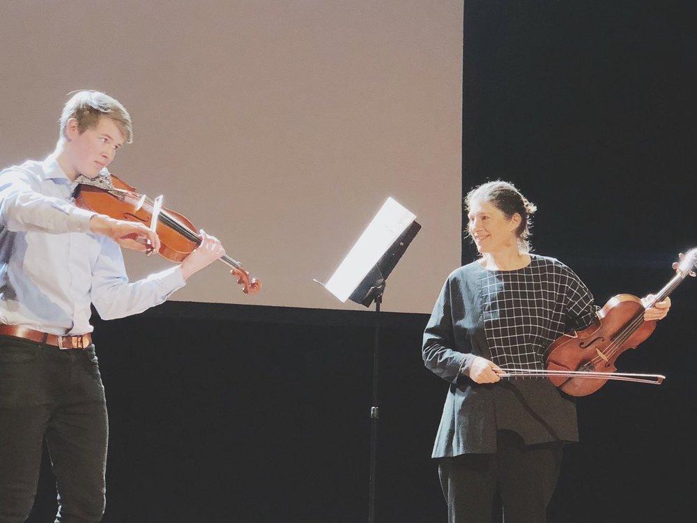 2018中提琴年會大師班