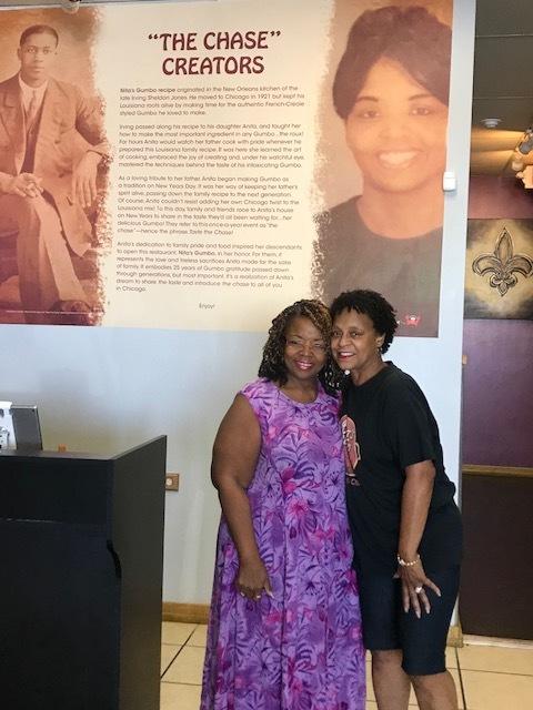 Felisha Orchid & Denise from Anita's Gumbo