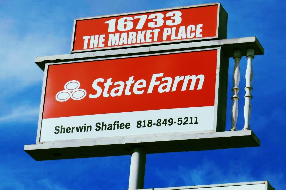 OutdoorBusinessSign_StateFarm_Encino_PremiumSignSolutions