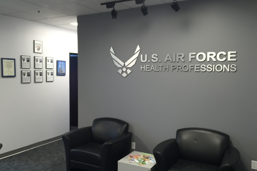 USairforce_lobbysignsign_premiumsignsolutions_losangeles