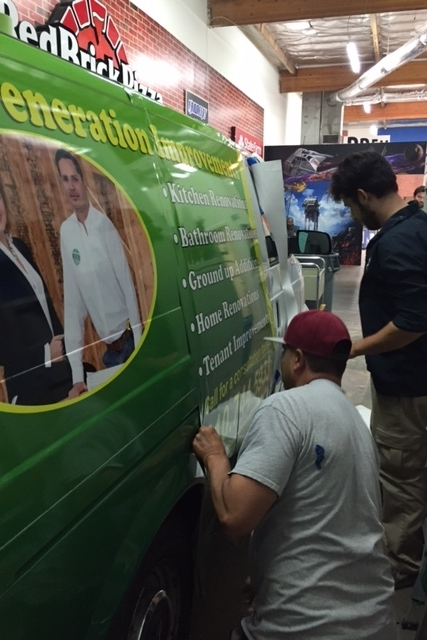 VehicleWrap_NewGenerationHomeImprovements_Encino_PremiumSignSolutions
