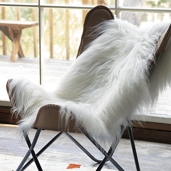 Superbe Icelandic Sheepskin Throw