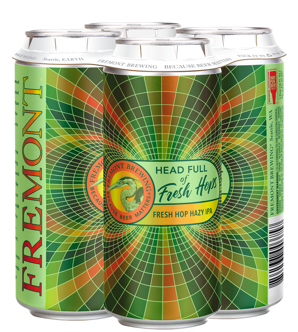Head Full of Fresh Hops 4-Pack 16oz Cans