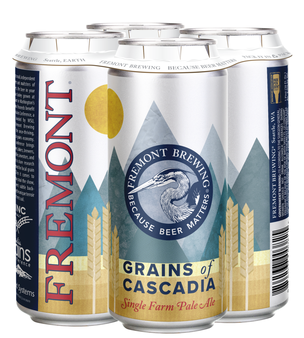 Grains of Cascadia 4-Pack 16oz Cans