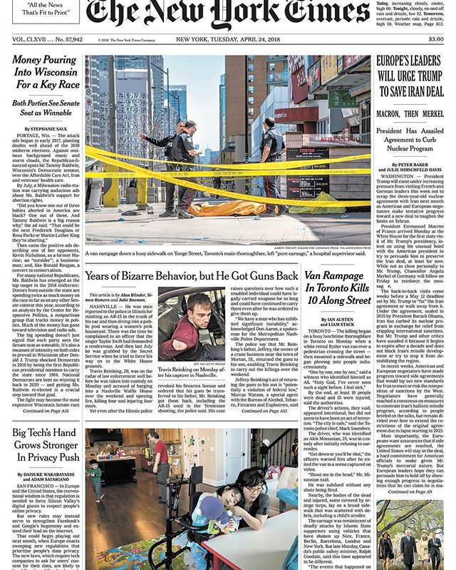 Yuna's story appeared on the front page of the New York Times today!  Reading this beautifully written article brought me so much emotion, and I could not sleep last night thinking about Yuna and the kindness that people showed to Yuna and our family. I can't thank enough to friends, colleagues, and everyone who sent me kind wishes and cheering messages. #MyFoxGirl #MyFoxFamily #FOXG1 #FOXG1syndrome #FOXG1research