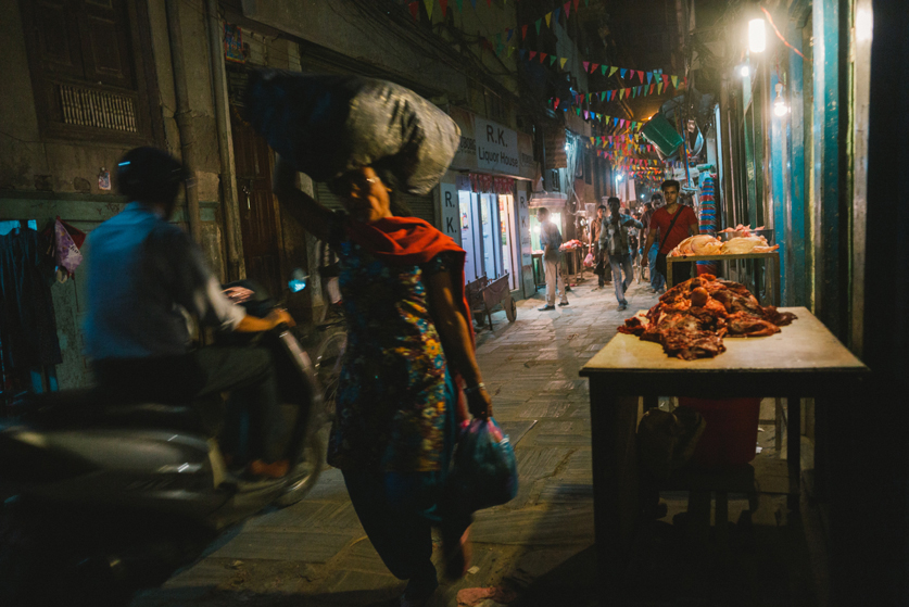 Streets of Thamel - Leica M240