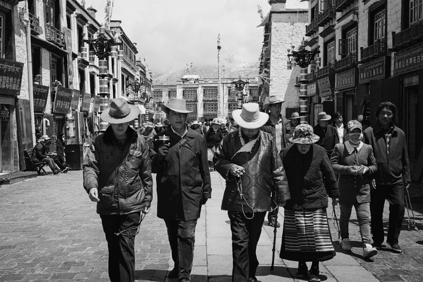 Cowboy in Tibet - Leica M240