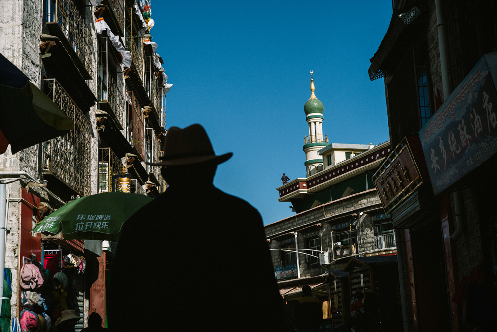 Cowboy in Muslim town - Leica M240