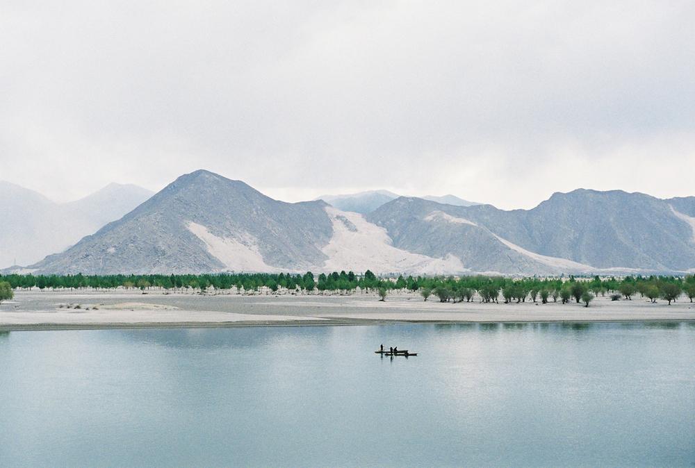 Tibetan lake - Leica M6
