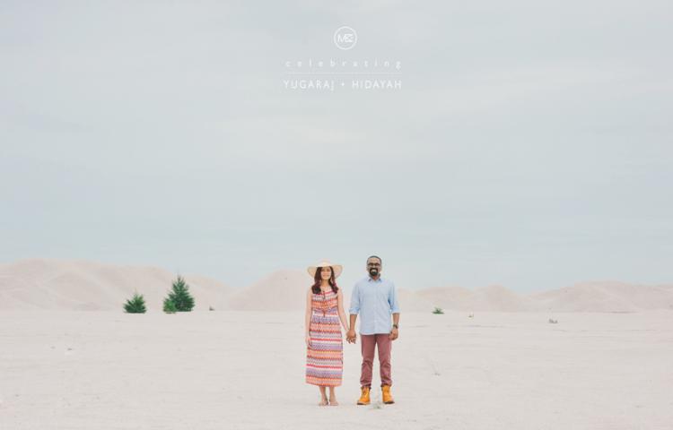 MELAKA ENGAGEMENT PORTRAIT - YUGARAJ + HIDAYAH