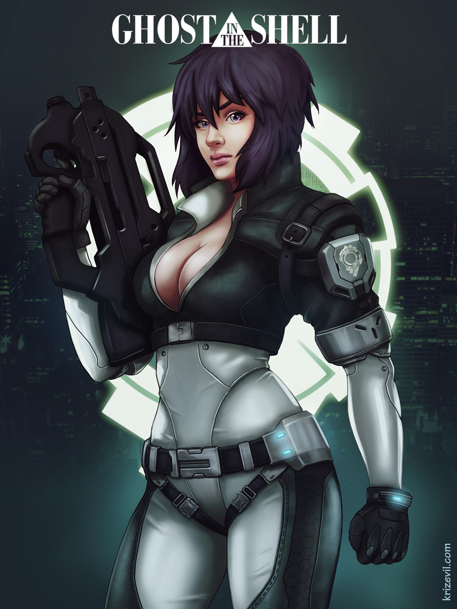 Kusanagi by Krizevil.jpg