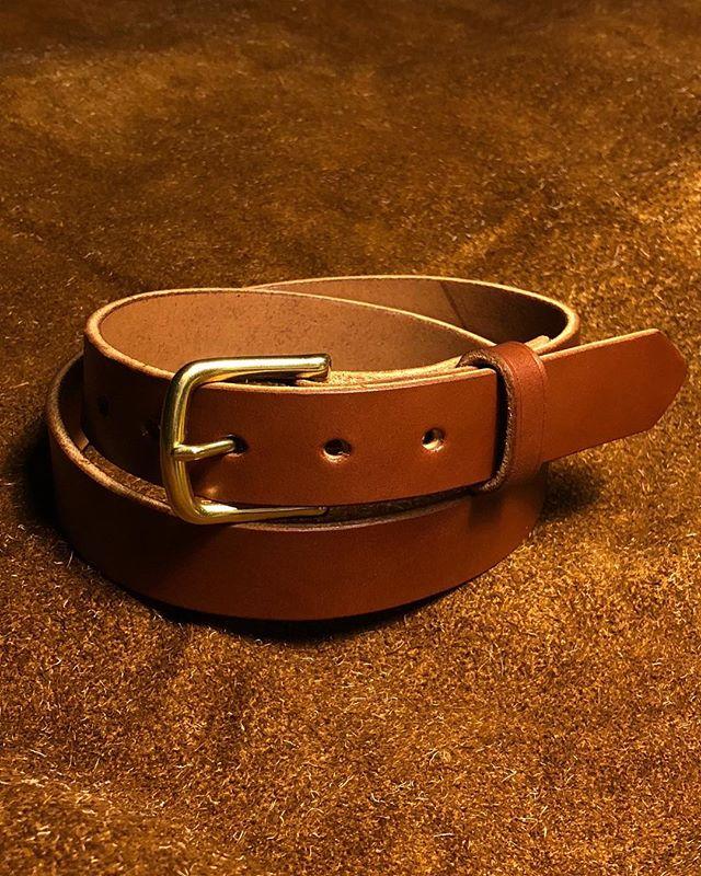 #brown 1.25inch belt for semi-cashzz
