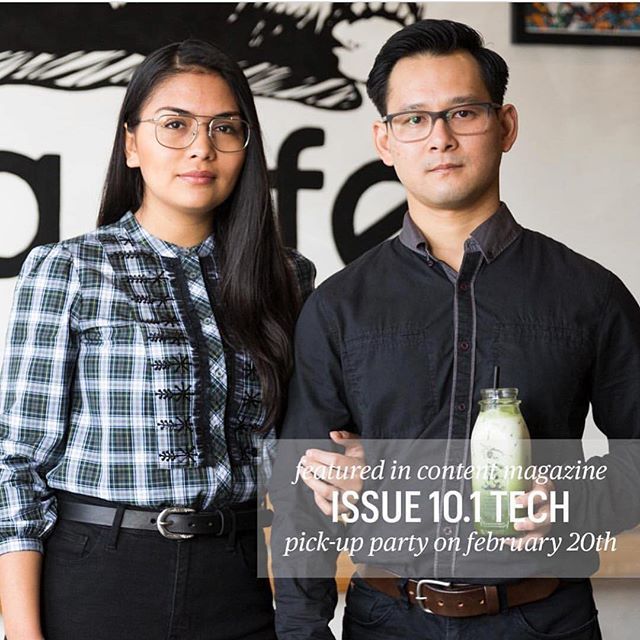 Proud and excited for my friends Candy and Caleb, @tealyfedrinks,  as they are featured in the latest edition of @contentmag. Follow them, and if you are in town (San Jose) give them a visit. They carry some unique drinks like Vietchata which is a Vietnamese coffee/Horchata blend.  And... so cool of them to rock Heritance belts for the feature!