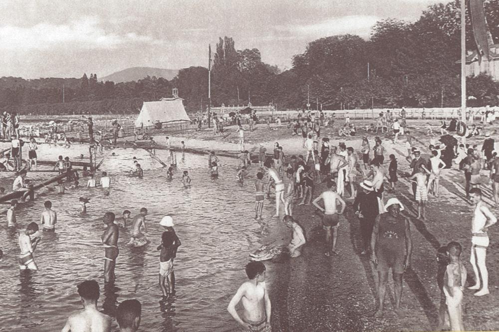 Pr sentation ecole de natation gn1885 for Piscine varembe