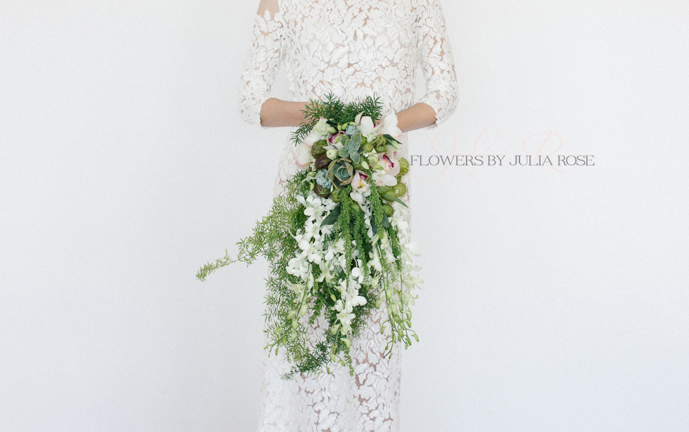 flowers by julia rose - green trailing wedding bouquet  copy.jpg
