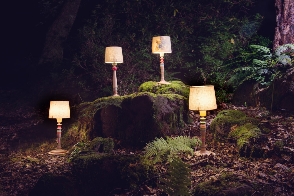 Sarah Lock lamps, Commercial Photography