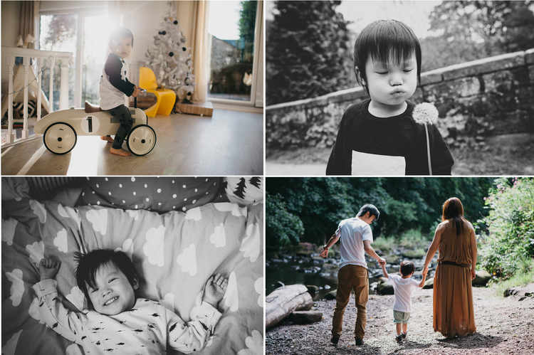 A year in the life - one little boys year documented each season