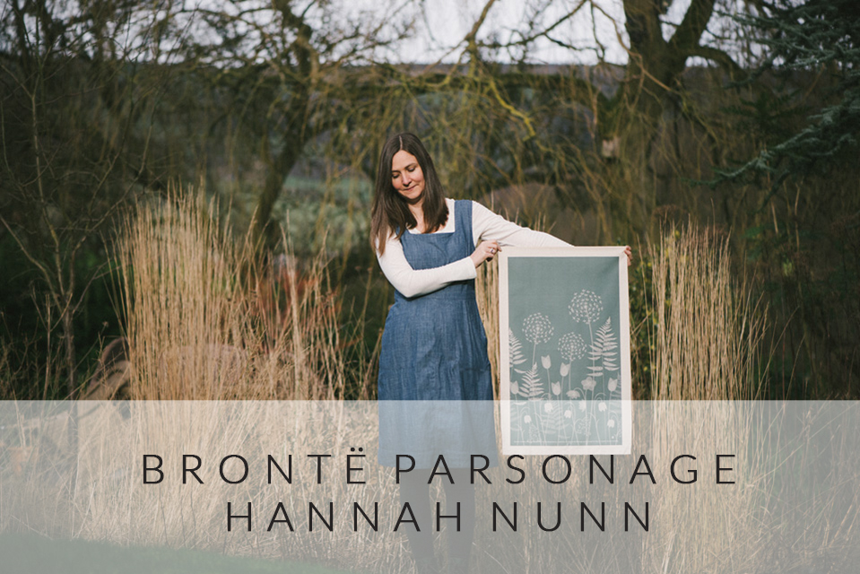 Charlotte's Garden by Hannah Nunn for Brontë Parsonage