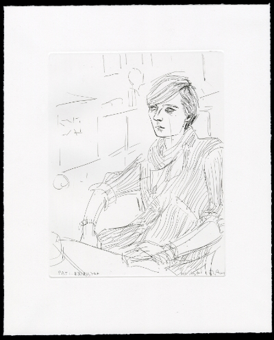 Elizabeth Peyton  Pati , 2007 Etching 25 x 20 cm 13/20, 5AP, 5PP Courtesy Gavin Brown's Enterprise