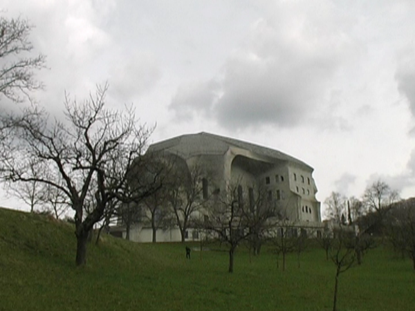 Still from  Goetheanum , 16 min DV Pal