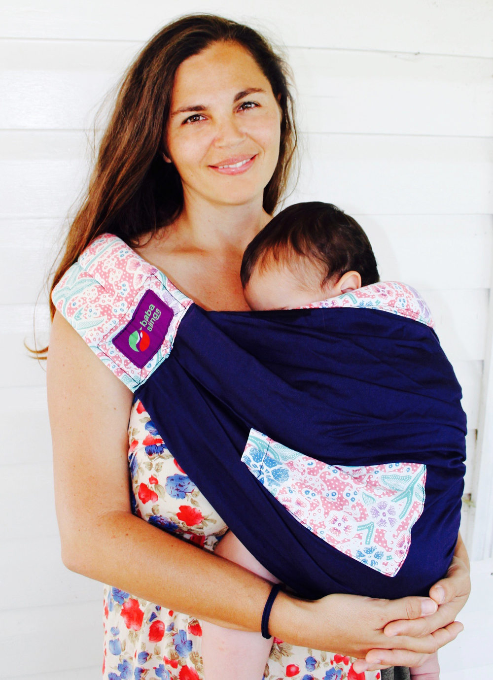 Our Beautiful Sister and friend Robyn, models the Navy/Batik