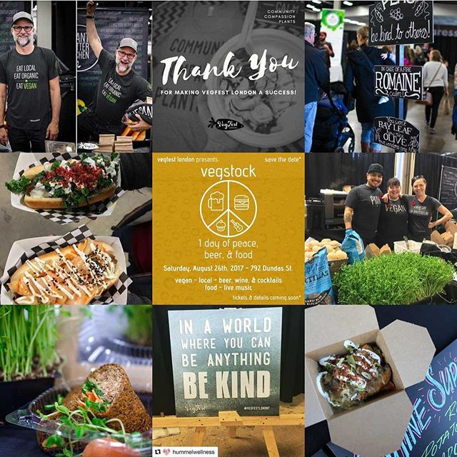 Thank you for all of your amazing support in 2017! We had our largest community of vendors at this year's festival, had an amazing community, grew our volunteer committee + awesome team of event day volunteers & hosted Vegstock. We can't wait to see you at VegFest London 2018✌️ P.S. If you're inspired to go #vegan check out @weareveganuary ✨