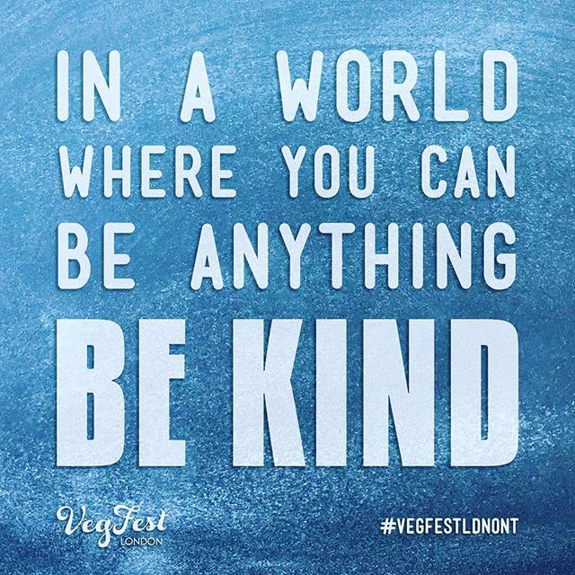 In a world where you can be anything, be kind 💙✌