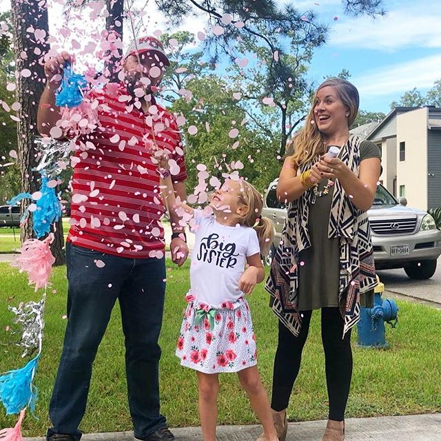 We've been a little quiet over here ... because ya know 1st trimester exhaustion is real!! With all 3 of us having April birthdays, we are SO excited to welcome another sweet girl to the party late April 2019! 💖🎀💕