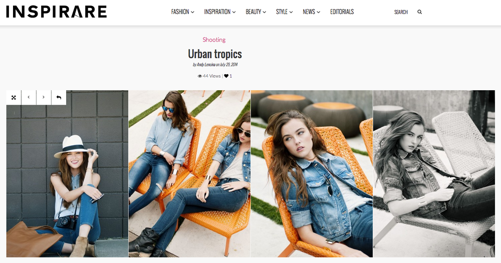 Inspirare Magazine Urban Tropics