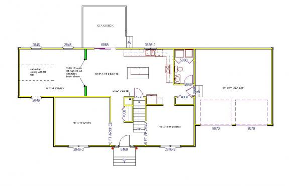 House plans aho development corp for Aho construction floor plans