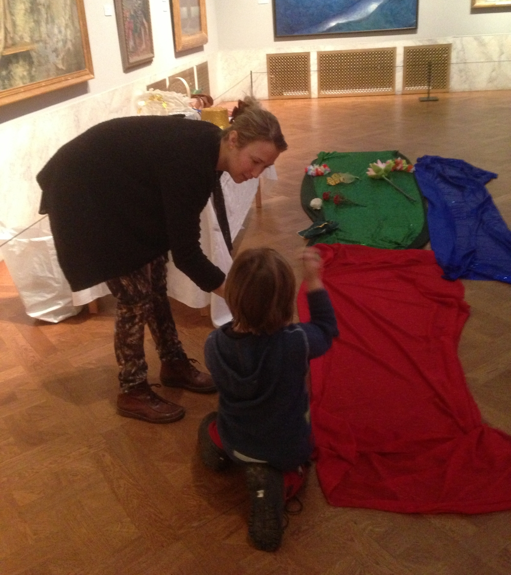 Familysunday with Creative ArtPlay @ Prins Eugens Waldemarsudde
