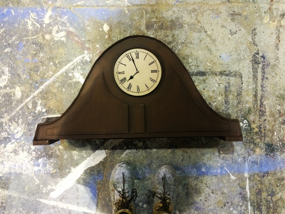 Cinderella Small Clock