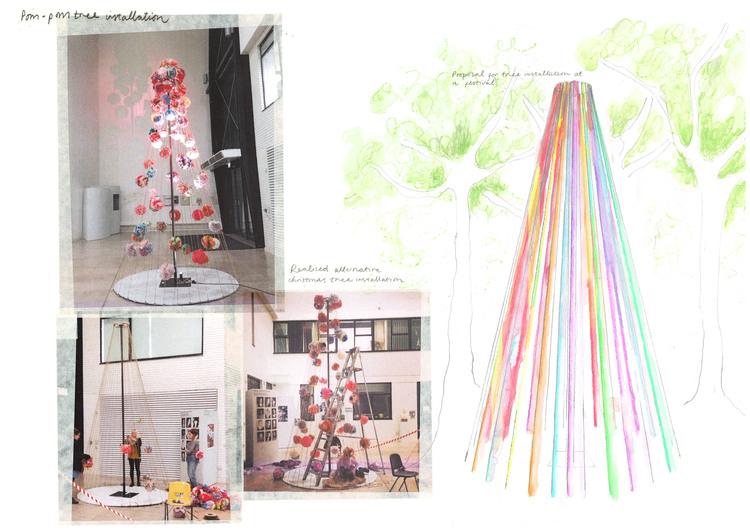 Design concept of Christmas Tree
